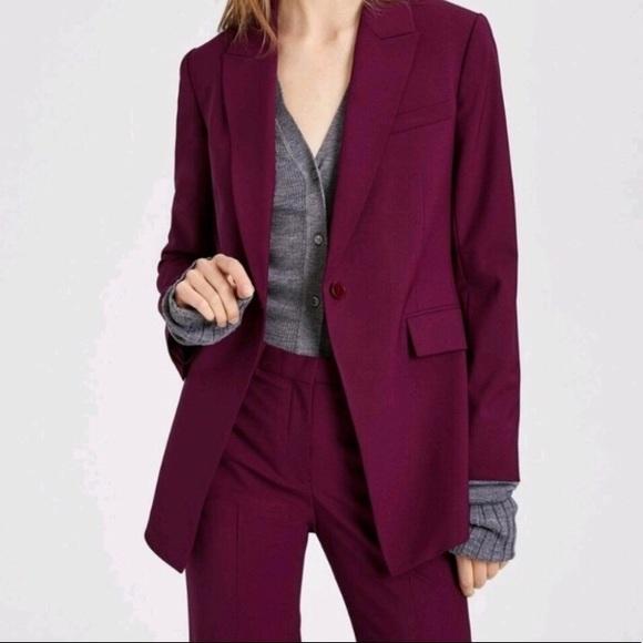 316566c14b Theory Jackets & Coats | Nwt Etiennette B Wool Blazer | Poshmark